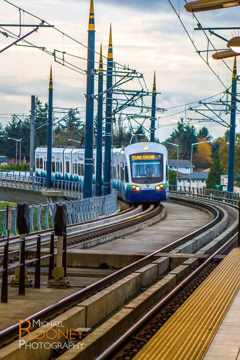 sound transit light rail train