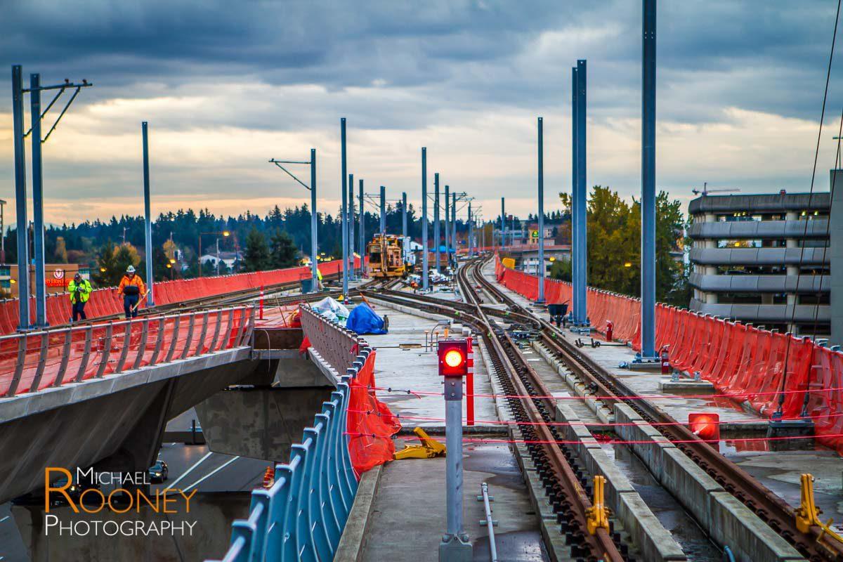 sound transit light rail construction