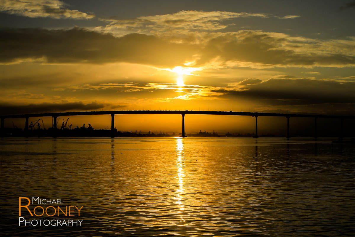 coronado bridge dawn