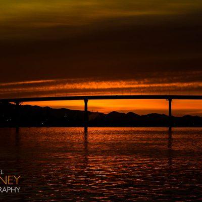 sunrise coronado bridge
