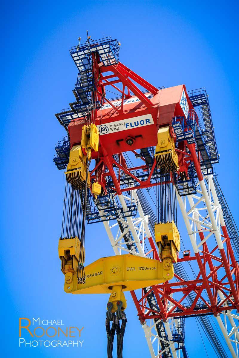 crane left coast lifter