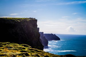 cliffs of moher county clare ireland sunny