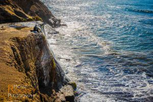 alamere falls waterfall point reyes national seashore california nature coast pacific ocean