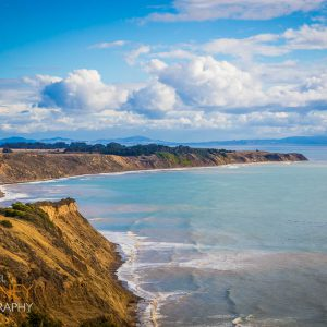The coastline of Point Reyes National Seashore in California