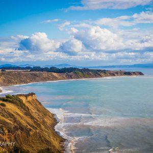 The coastline of Point Reyes National Seashore in California
