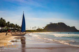 sailboat nacpan beach el nido palawan philippines sand