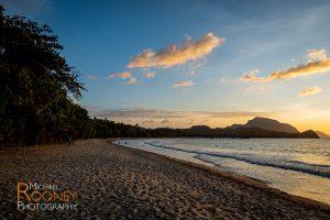 lio beach sunset dusk el nido palawan philippines