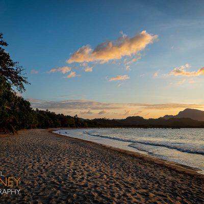 Sunset on Lio Beach in El Nido, Palawan, Philippines