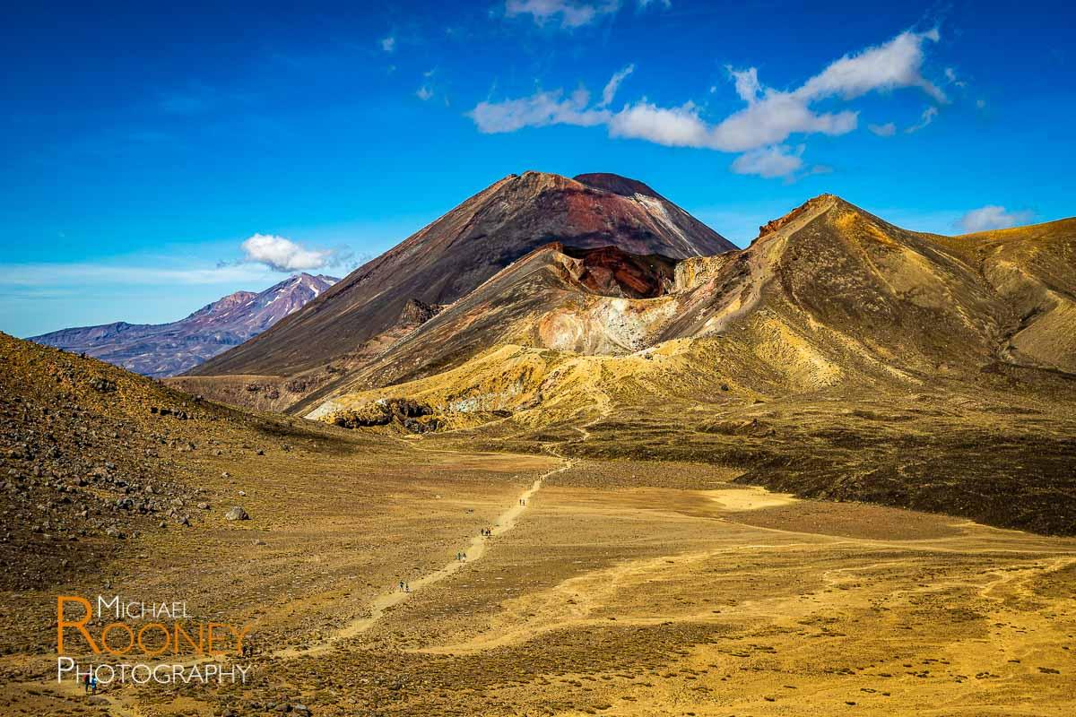 mount ngauruhoe tongariro national park new zealand