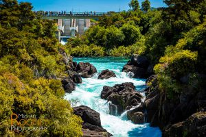 aratiatia rapids dam waikato river taupo new zealand