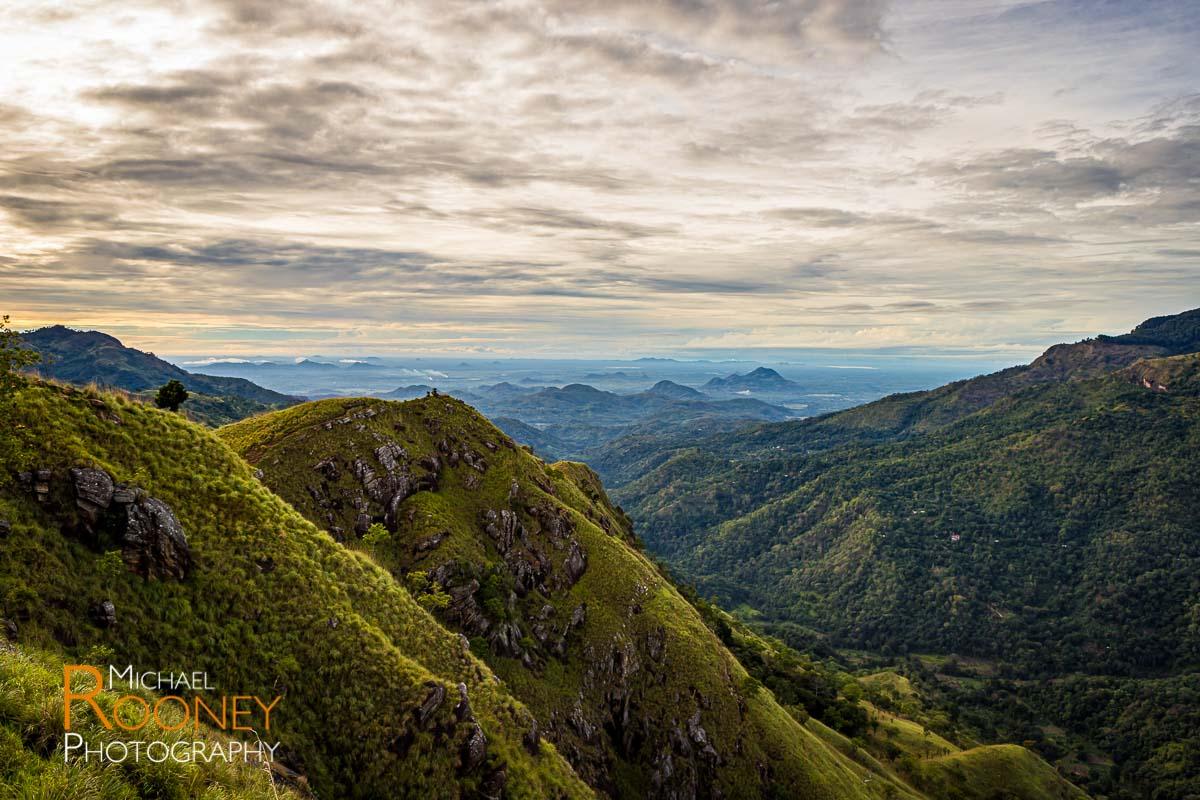little adam's peak sunrise elle sri lanka valley