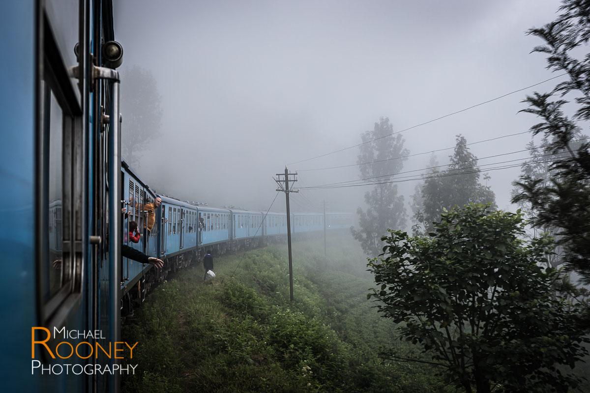 ella train fog blue tea highland sri lanka
